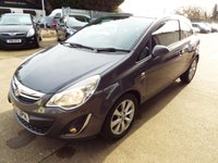USED 2012 11 VAUXHALL CORSA 1.2 ACTIVE AC 3d 83 BHP