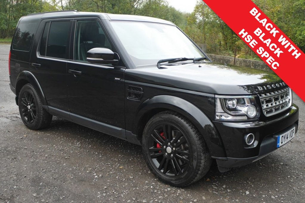 USED 2014 14 LAND ROVER DISCOVERY 4 3.0 SDV6 HSE 5d AUTO 255 BHP