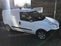 2013 FIAT DOBLO 1.2 16V MULTIJET SWB 1d 90 BHP £4495.00