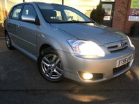 2007 TOYOTA COROLLA 1.4 T3 COLOUR COLLECTION VVT-I 5d 92 BHP £2795.00