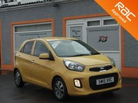 USED 2015 15 KIA PICANTO 1.0 SR7 5d 68 BHP 14 inch Alloys, Bluetooth, Parking Sensors