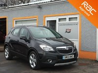 USED 2015 15 VAUXHALL MOKKA 1.6 EXCLUSIV CDTI S/S 5d 134 BHP 18 Inch Alloys, Front & Rear Parking Sensors, Bluetooth