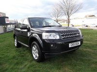 USED 2011 11 LAND ROVER FREELANDER 2.2 TD4 GS 5d 150 BHP FSH, 58K!