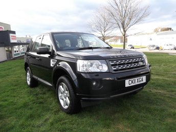 2011 LAND ROVER FREELANDER 2.2 TD4 GS 5d 150 BHP £9595.00