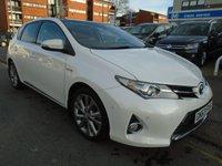 2013 TOYOTA AURIS 1.8 EXCEL VVT-I 5d AUTO 99 BHP £9994.00