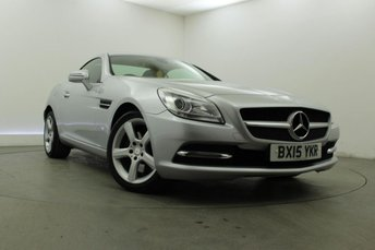 2015 MERCEDES-BENZ SLK 2.1 SLK250 CDI BLUEEFFICIENCY 2d AUTO 204 BHP £13395.00