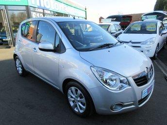 2014 VAUXHALL AGILA 1.2 SE 5d AUTO 93 BHP £7000.00