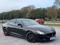 USED 2015 15 MASERATI QUATTROPORTE 3.0 DV6 4d AUTO 275 BHP TALIOR MADE FINANCE PACKAGES, 2 KEYS, UPGRADED 20 INCH WHEELS, REARF BLINDS, BRANDING PACK, RED CALIPERS, DAB RADIO, KEYLESS ENTRY AND GO