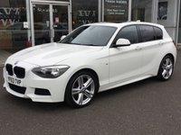 2013 BMW 1 SERIES 2.0 120D M SPORT 5 DOOR HATCHBACK 181 BHP £11690.00
