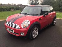 USED 2008 58 MINI HATCH COOPER 1.6 COOPER 3d 118 BHP