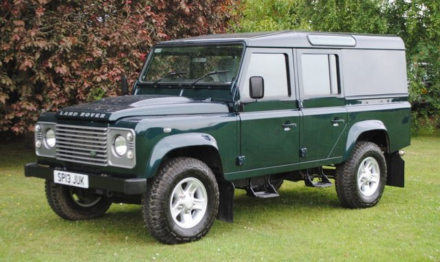 2013 13 LAND ROVER DEFENDER 2.2 TD COUNTY UTILITY WAGON 1d 122 BHP