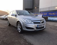 USED 2009 59 VAUXHALL ASTRA 1.6 ACTIVE 5d 115 BHP