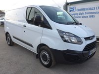 USED 2017 66 FORD TRANSIT CUSTOM 2.0 270 LOW ROOF, 104 BHP [EURO 6] LOW MILES