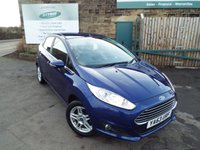 USED 2014 63 FORD FIESTA 1.2 ZETEC 5d 81 BHP One Owner Ford Service History