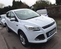 USED 2014 14 FORD KUGA 2.0 TDCI ZETEC 140 BHP THIS VEHICLE IS AT SITE 1 - TO VIEW CALL US ON 01903 892224