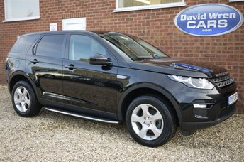 2017 LAND ROVER DISCOVERY SPORT 2.0 TD4 PURE SPECIAL EDITION 5d 150 BHP £21990.00