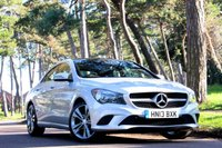 2013 MERCEDES-BENZ CLA 1.6 CLA180 SPORT COUPE £13495.00