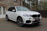 USED 2014 BMW X5 3.0 XDRIVE30D M SPORT 5d AUTO 255 BHP Mineral white, M performance kit