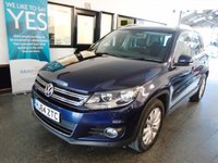 2014 VOLKSWAGEN TIGUAN 2.0 MATCH TDI BLUEMOTION TECHNOLOGY 5d 139 BHP £12495.00
