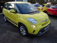 USED 2014 63 FIAT 500L 1.3 TREKKING MULTIJET DUALOGIC AUTOMATIC 5d 85 BHP Serviced by ourselves, Minimum 8 months MOT, Two Previous Owners, Automatic, Diesel, Great fuel economy! Only £20 Road Tax!