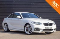 USED 2016 16 BMW 2 SERIES 2.0 228I M SPORT 2d AUTO 241 BHP £0 DEPOSIT BUY NOW PAY LATER - NAVIGATION - REAR SENSORS