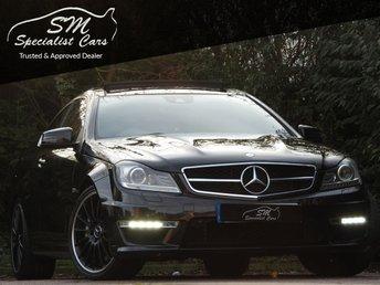 2012 MERCEDES-BENZ C CLASS 6.2 C63 AMG EDITION 125 2d AUTO 457 BHP £25950.00