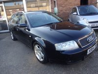 USED 2005 54 AUDI A6 1.9 TDI FINAL EDITION 5d AUTO 129 BHP Great Value estate car, diesel, automatic, full black leather, 2 keys and book pack