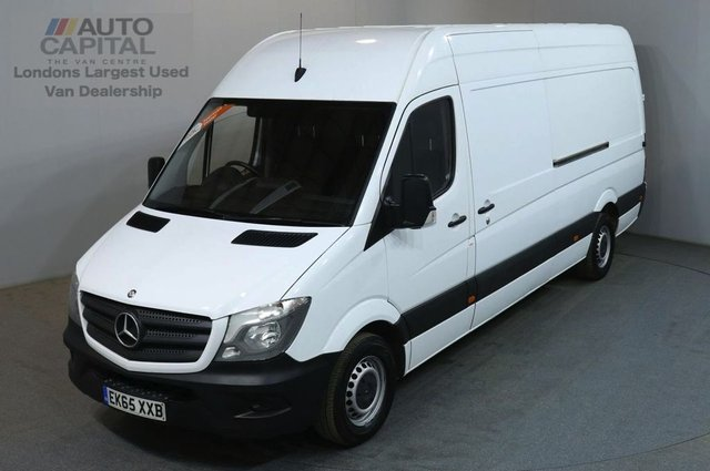 2015 65 MERCEDES-BENZ SPRINTER 2.1 313 CDI LWB 129 BHP H/ROOF PANEL VAN ONE OWNER SPARE KEY