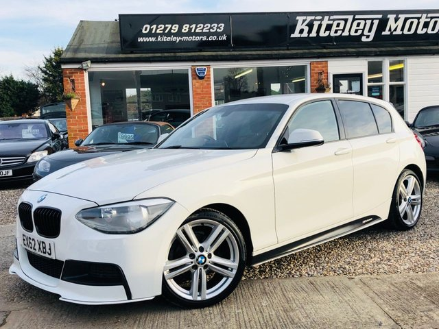 2012 62 BMW 1 SERIES 1.6 116I M SPORT M PERFORMANCE KIT
