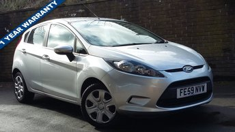2009 FORD FIESTA 1.2 STYLE 5d 81 BHP £3989.00