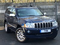 2006 JEEP GRAND CHEROKEE 3.0 V6 CRD OVERLAND 5d 215 BHP £5495.00