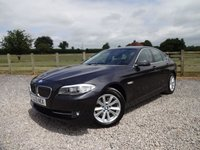 USED 2013 13 BMW 5 SERIES 2.0 520D SE 4d 181 BHP EXCELLENT SPECIFICATION 520D COMBINING LUXURY AND FUEL EFFICIENCY