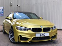 USED 2015 64 BMW M4 3.0 M4 2DR 426 BHP