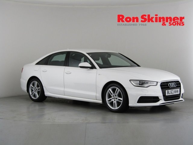 View our 2014 63 AUDI A6 2.0 TDI S LINE 4d 175 BHP