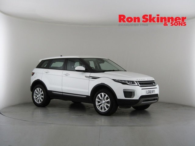 View our 2016 16 LAND ROVER RANGE ROVER EVOQUE 2.0 ED4 SE 5d 148 BHP