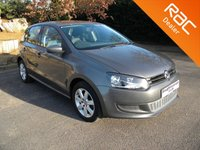 USED 2010 10 VOLKSWAGEN POLO 1.4 SE 5d 85 BHP Air-Con, Alloys Wheels