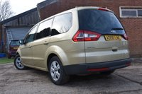 USED 2007 56 FORD GALAXY 1.8 ZETEC TDCI 5d 125 BHP Rear DVD Entertainment