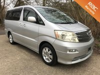 USED 2003 TOYOTA ALPHARD WELCAB DISABLED WHEELCHAIR ACCESS