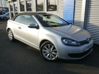 2012 VOLKSWAGEN GOLF 1.6 S TDI BLUEMOTION TECHNOLOGY 2d 104 BHP £7480.00