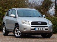 2007 TOYOTA RAV4 2.0 XT5 VVT-I 5d 151 BHP £4470.00