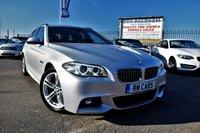 2013 BMW 5 SERIES 2.0 520D M SPORT TOURING 5DR AUTO 181 BHP £12995.00