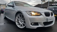 USED 2007 07 BMW 3 SERIES 3.0 325I M SPORT 2d 215BHP HARD TOP CONVERTIBLE RED LEATHER SPORTS ELEC SEATS+