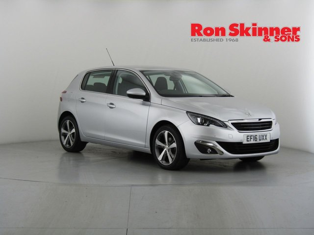View our 2016 16 PEUGEOT 308 1.2 PURETECH S/S ALLURE 5d 130 BHP