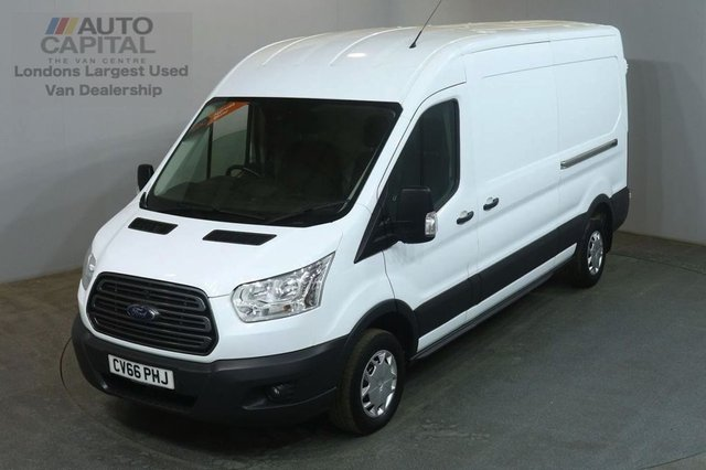 2016 66 FORD TRANSIT 2.2 310 TREND 125 BHP LWB M/ROOF L3H2 FWD VAN FRONT AND REAR PARKING SENSORS