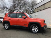 USED 2016 65 JEEP RENEGADE 1.6 M-JET LONGITUDE 5d 118 BHP