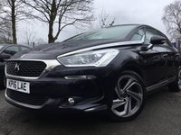 USED 2016 16 DS DS 5 2.0 THP ELEGANCE S/S EAT6 5d 178BHP FSH+2KEYS+GLASS PAN SUNROOF+