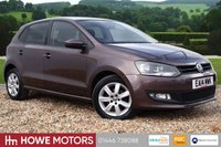 USED 2014 14 VOLKSWAGEN POLO 1.2 Match Edition 5dr FULL HISTORY LOVELY PETROL