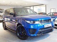 USED 2017 67 LAND ROVER RANGE ROVER SPORT SVR 5.0 V8 SVR 5d AUTO 543 BHP ++PAN ROOF+CARBON+SOFT CLOSE++
