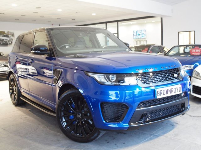View our LAND ROVER RANGE ROVER SPORT SVR