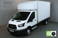 USED 2017 67 FORD TRANSIT 2.0 350 129 BHP LWB EURO 6 AIR CON TWIN WHEEL WITH TAIL LIFT LUTON REAR BED LENGTH 12 FOOT & 3 INCH